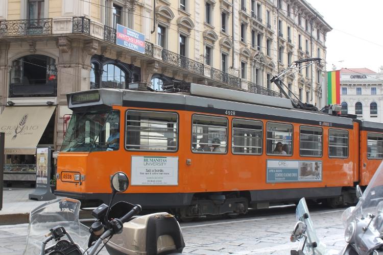 le tramway - Milan