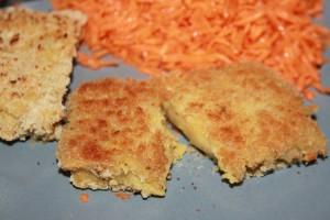 fromage vegan pané