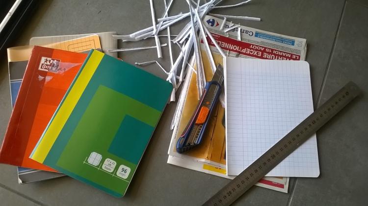 Récup vieux cahiers de cours