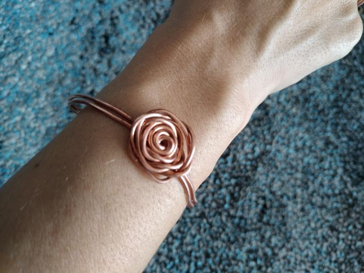 Bracelet en récup